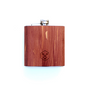 TIMBER Wood Skin 6oz. Flask