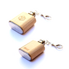 TIMBER Wood Skin 2oz. Keychain Mini Flask