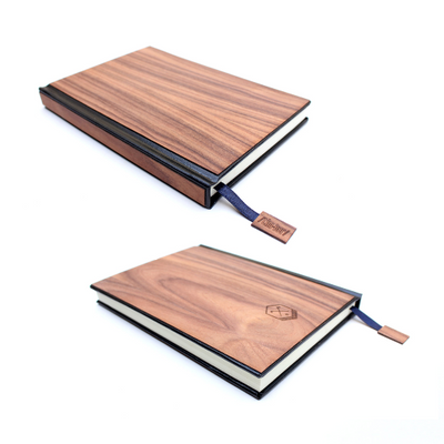 TIMBER Wood Skin (Lined) Journal Small