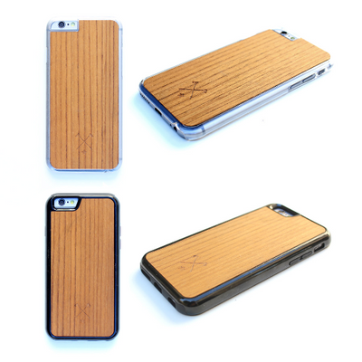 TIMBER Wood Skin Case (iPhone, Samsung Galaxy) : NO FeAr Periodic Table Edition