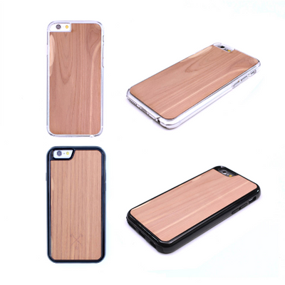 TIMBER Wood Skin Case (iPhone, Samsung Galaxy) : Vader Edition