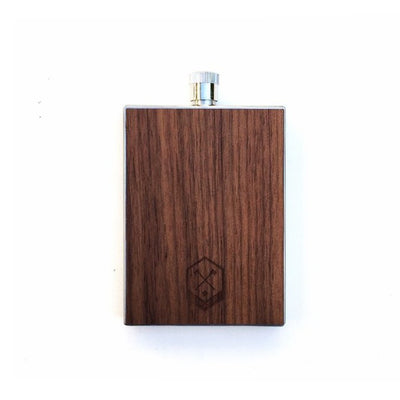 TIMBER Wood Skin 3oz. Flask