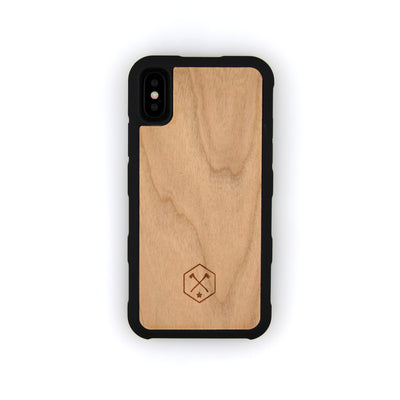 TIMBER iPhone X Wood Case