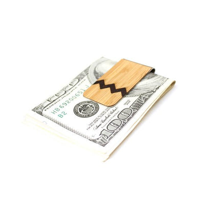TIMBER Wood Skin Money Clip : Texas State Edition