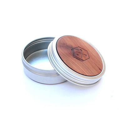 TIMBER Wood Skin Screw-Top Tin