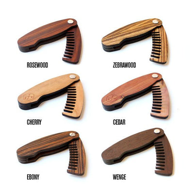 TIMBER Scout - Folding Woodskin Pocket Comb