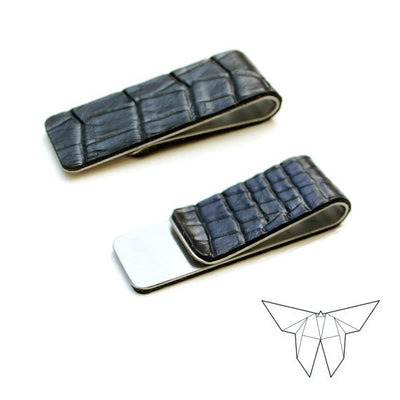 ZOE Croc Skin Money Clip 'SLIM' Edition