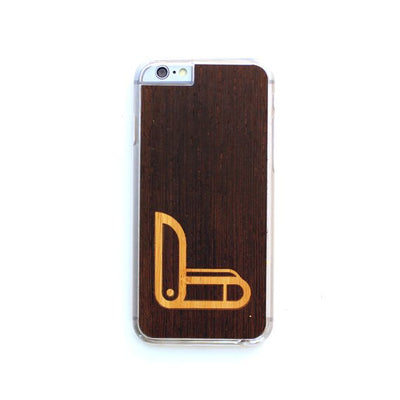 TIMBER iPhone 6 Plus / 6s Plus Wood Case : Swiss Army Inlay Edition
