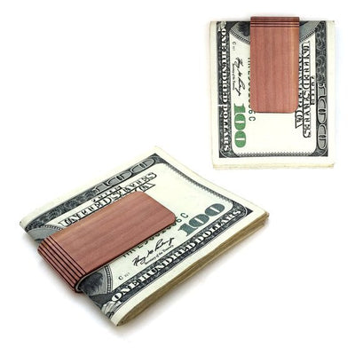TIMBER 'Joaquin' Wood Skin Money Clip