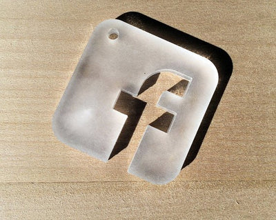 Laser Cut Social Media Icon Coasters - Set of 9 coasters