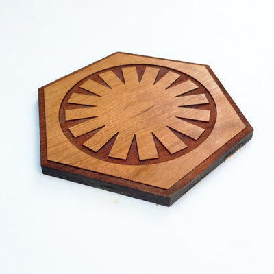 8pc. Laser Cut Star Wars Coasters