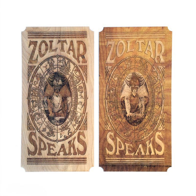 Zoltar Fortune Teller Card - Wall Art