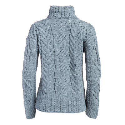 The Máire  Merino Wool Irish Sweater - TheIrishShop