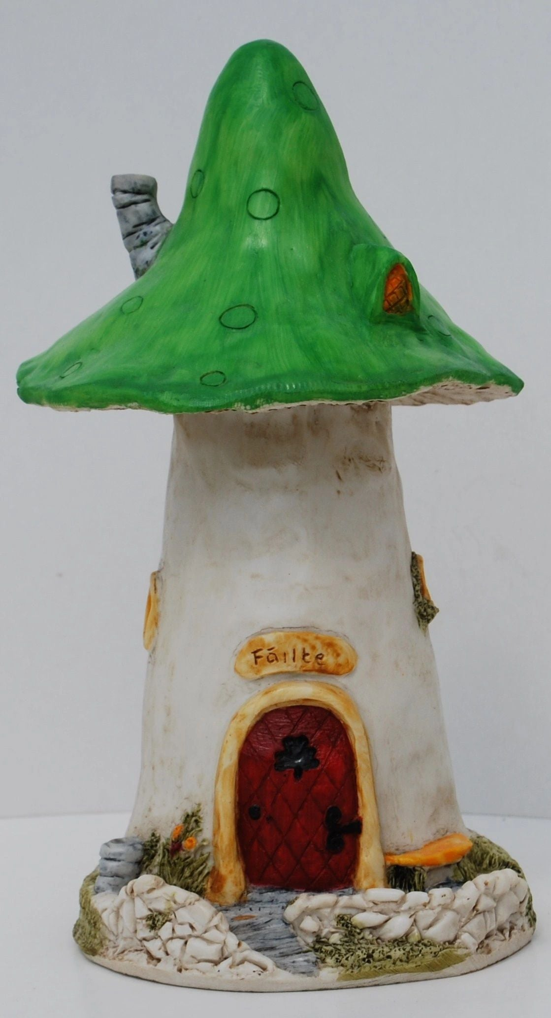 FAIRY MUSHROOM HOUSE LARGE - TheIrishShop