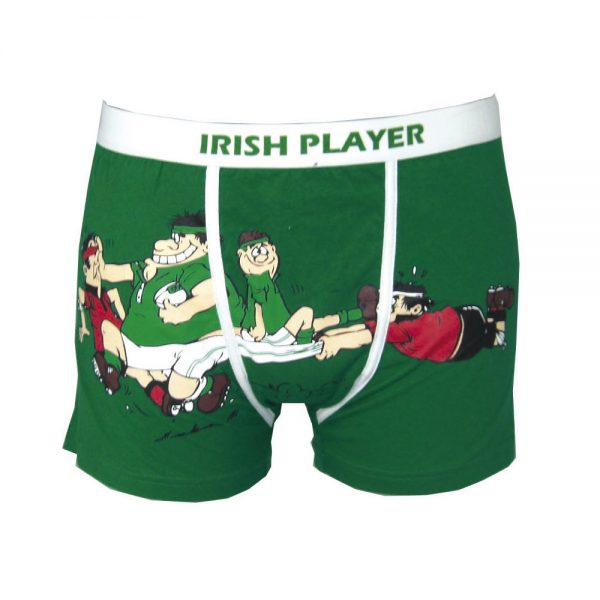 Green Irish Player Boxer Short - TheIrishShop