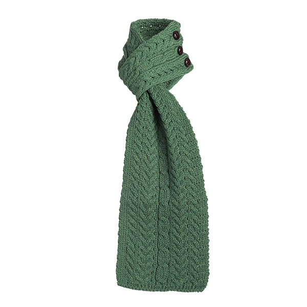 Wool Aran Loop Scarf - TheIrishShop