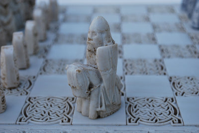 OGOWNA ISLE OF LEWIS CHESS SET MUSEUM REPRODUCTION - TheIrishShop