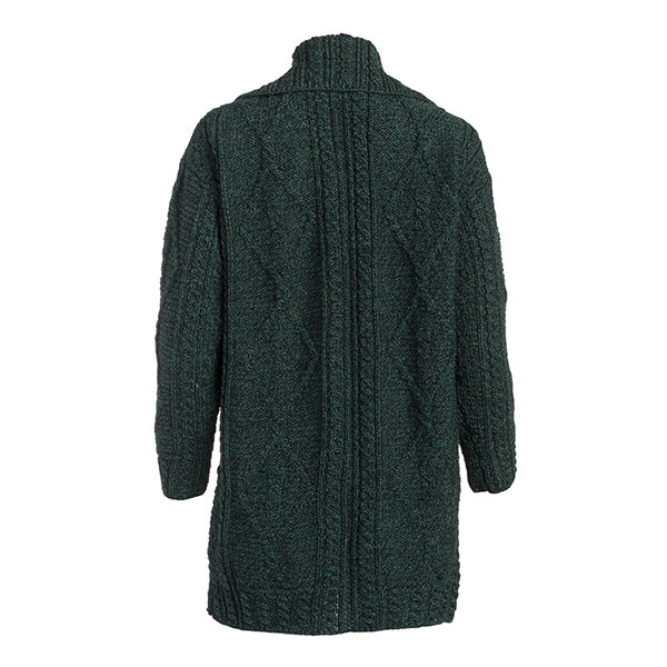 Ladies Single Button Wool Coat - TheIrishShop