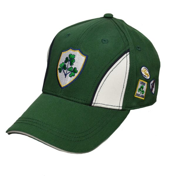 Lansdowne Bottle Green Ireland Crest Baseball Cap - TheIrishShop
