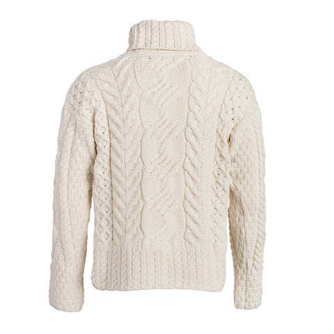 The Máire  Merino Wool Irish Sweater