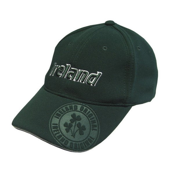 Green Ireland Embossed Baseball Cap - TheIrishShop