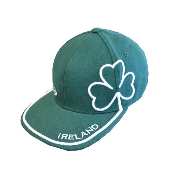 Green Shamrock Baseball Cap - TheIrishShop