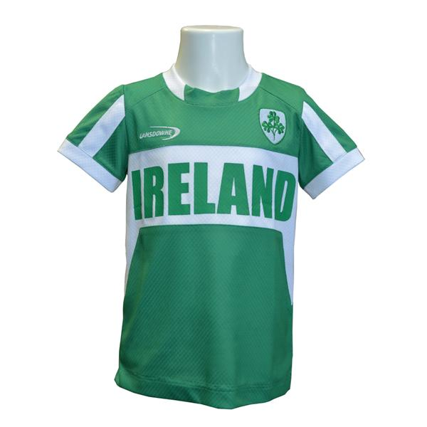 Emerald/White Ireland Performance Kids Top - TheIrishShop