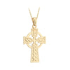 Celtic Cross Pendant | 14K Gold | Solvar - TheIrishShop
