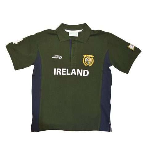 Lansdowne Green/Navy Ireland Kids Polo