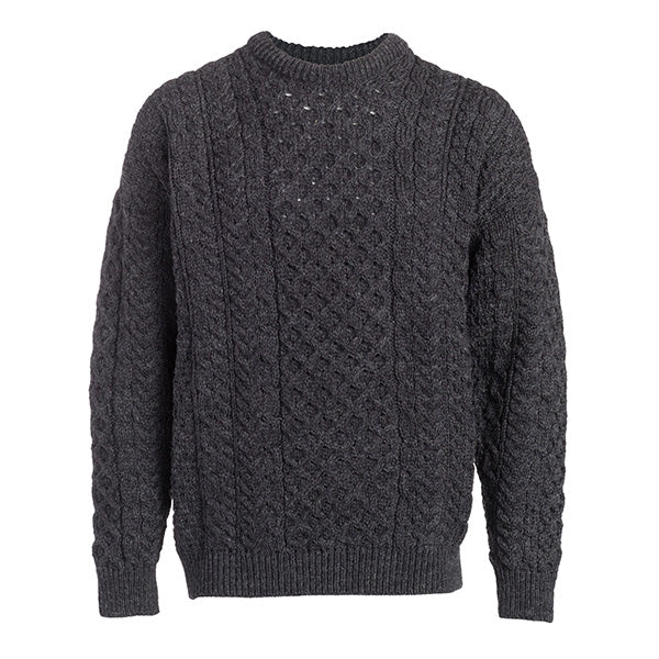 Men's Fisherman Aran Sweater