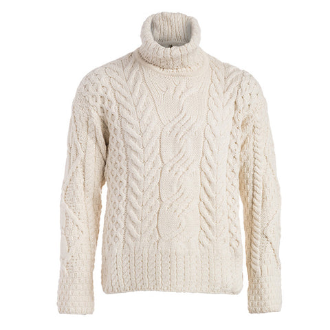 Image of The Máire  Merino Wool Irish Sweater