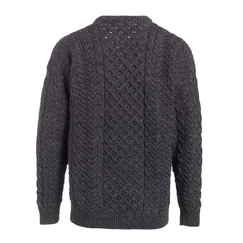 Image of Men's Fisherman Aran Sweater
