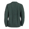 Ladies Merino Wool Lumber Cardigan - TheIrishShop