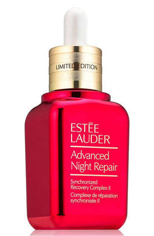 Estee Lauder LIMITED EDITION Advanced Night Repair Synchronized Recovery Complex II in Red Bottle