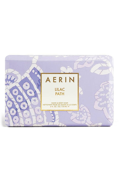 AERIN Lilac Path Soap - eCosmeticWorld