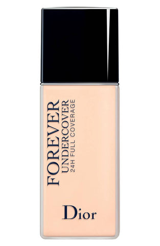 Dior Diorskin Forever Undercover 24H Wear Full Coverage Fresh Weightless Foundation High Pigment/Water Based