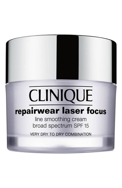 Clinique Repairwear Laser Focus Line Smoothing Cream Broad Spectrum SPF 15