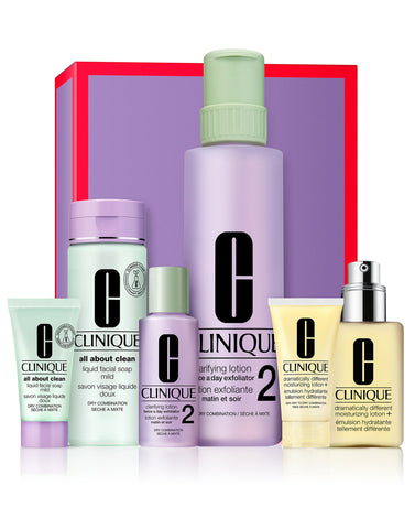 Clinique Great Skin Everywhere Gift Set - Skin Types 1,2