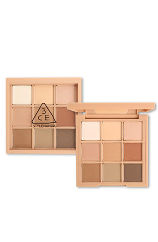 3CE Mood Recipe Multi Eye Color Palette #SMOOTHER - eCosmeticWorld