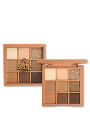 3CE Mood Recipe Multi Eye Color Palette #PLOT TWIST - eCosmeticWorld