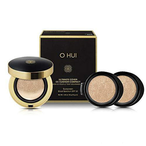 O HUI Ultimate Cover CC Cushion Compact Sunscreen Broad Spectrum SPF 50 - eCosmeticWorld