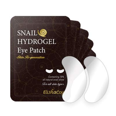 ElishaCoy Snail Hydrogel Eye Patch 3.5g X 5pcs