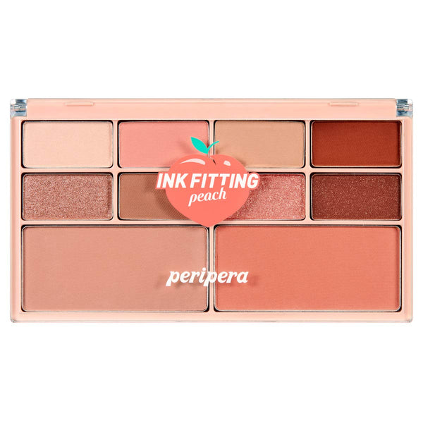 Peripera Ink Fitting Color Palette - 04 Get Peach With Me