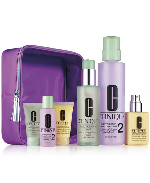 Clinique Great Skin Home & Away Set - For Drier Skin