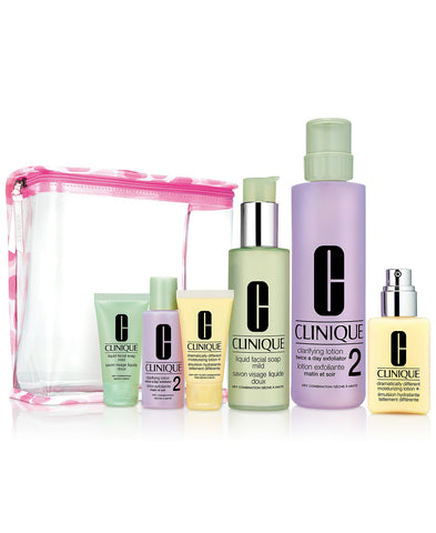 Clinique Great Skin Everywhere Gift Set - Skin Types 1,2 (for Drier Skin)