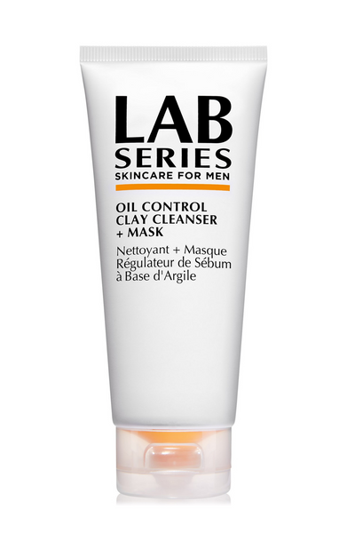 Lab Series Skincare for Men Oil Control Clay Cleanser + Mask