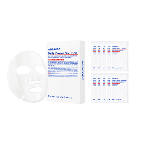 ASIS-TOBE Daily Derma Solution 10 Masks - eCosmeticWorld