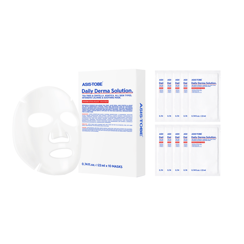 ASIS-TOBE Daily Derma Solution 10 Masks