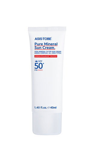 ASIS-TOBE Pure Mineral Suncream 40ml - eCosmeticWorld