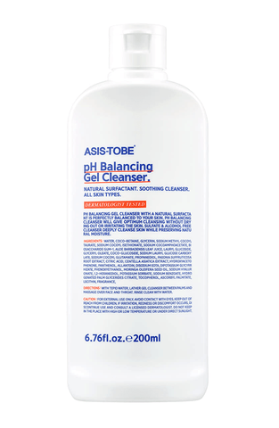 ASIS-TOBE pH Balancing Gel Cleanser 200ml